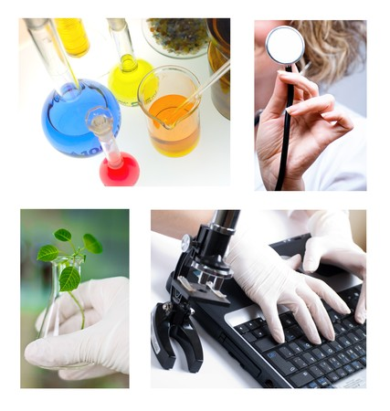 Collage of my photos medical and pharmaceutical research