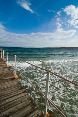 pier and seascape Stock Photo - 4295321