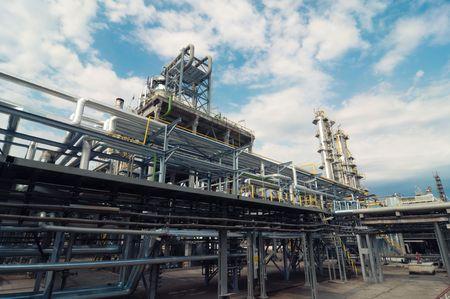oil refinery Stock Photo - 5775456