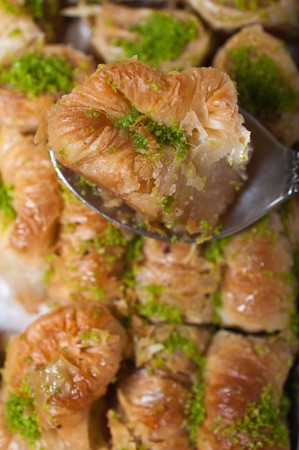 turkish delight,baklava Stock Photo