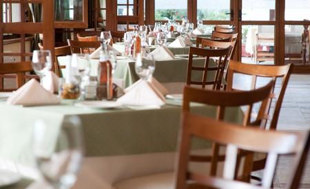 Interior of restaurant photo