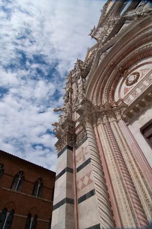 Sienna - medieval town photo