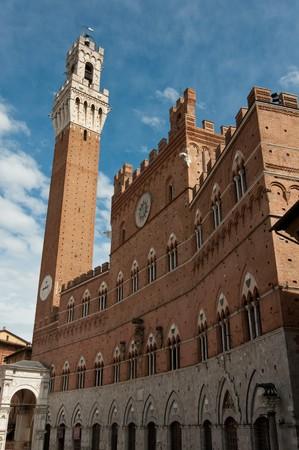 Palazzo Pubblico and Torre del Mangia photo