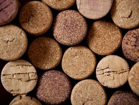 Close up of  wine cork