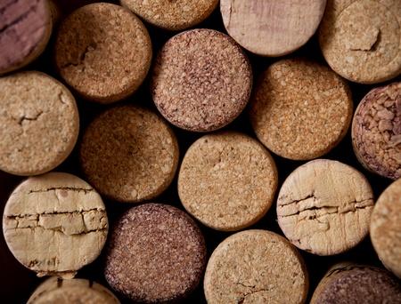 tornillos: Detalle de vino de corcho