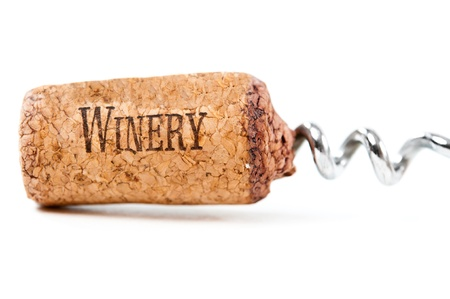 Close up of cork