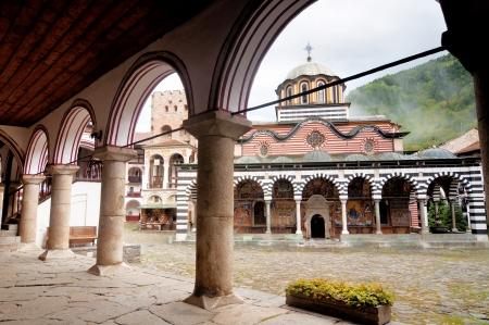 bulgaria: Rila Monastery in Bulgaria