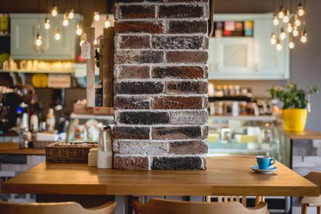 barra de bar: restaurante de moda, caffee Foto de archivo