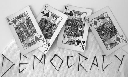 democracia: La democracia en la actualidad Foto de archivo