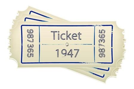 train ticket: Ticket icon Stock Photo
