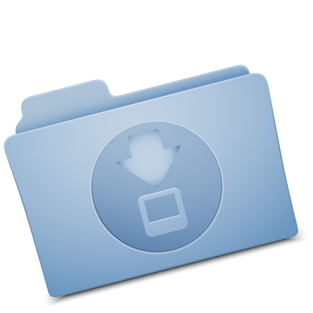 resize: folder icon - image can be re-size to any limit Illustration