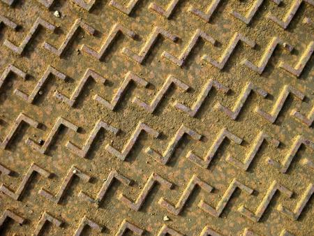 manhole cover design - top view photo