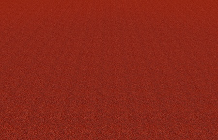 concrete floor in red color,finishing view Stock Photo