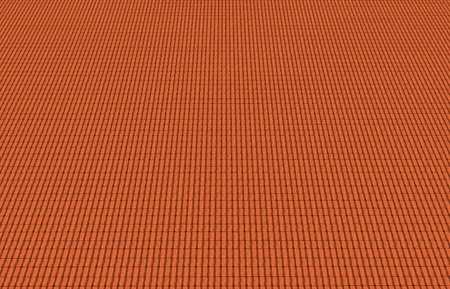 red roof tiles texture - top view Stock Photo - 12865639