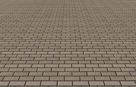 Wall and roof tiles texture Stock Photo