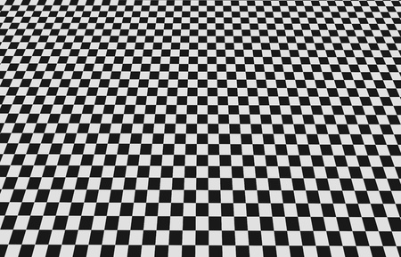 Checkered floor tiles large view photo
