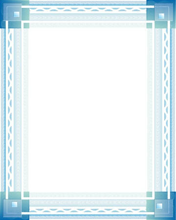 Cadre photo isolé sur blanc, l'image peut être re-taille à aucune limite