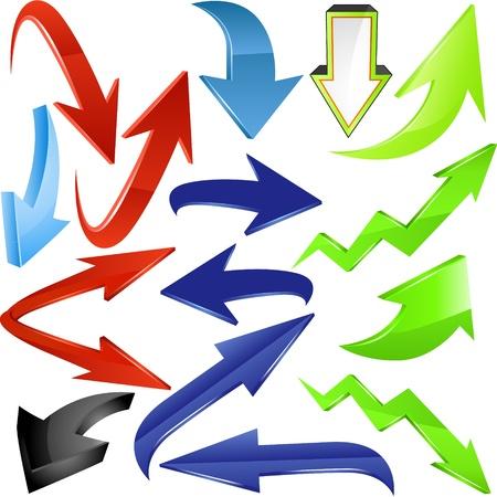 flecha azul: Juego de las flechas