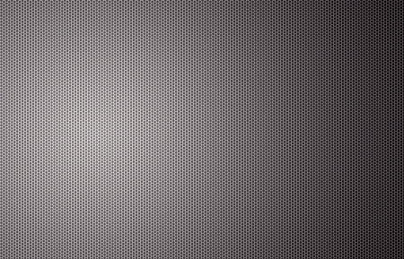 Perforated steel background photo