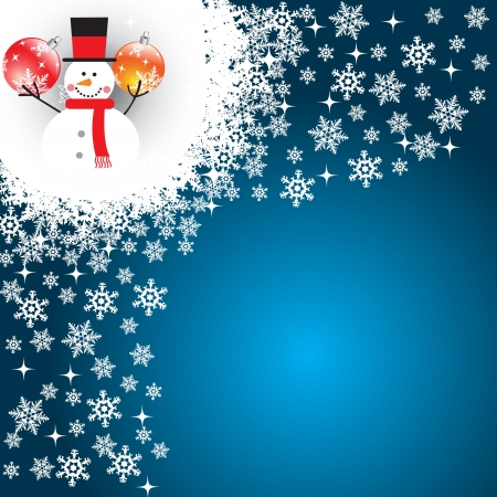 resize: Christmas background - fully editable and can be re-size to any limit Illustration