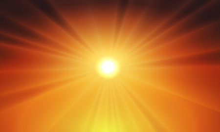 Sun light vector background - fully editable and can be re-size to any limit Vector