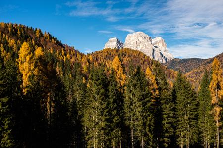 Monte Pelmo in the Dolomites