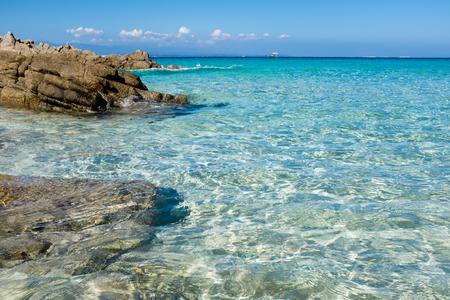 The beautiful sea of Santa Teresa di Gallura, Sardinia 스톡 콘텐츠 - 127219731