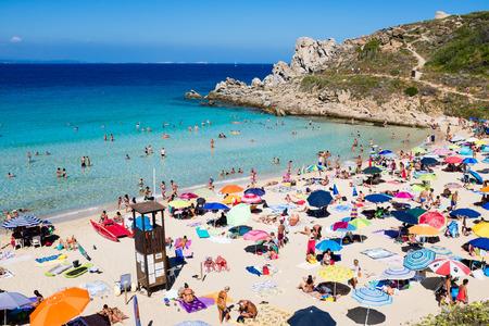 The beautiful sea of Santa Teresa di Gallura, Sardinia 스톡 콘텐츠 - 127212418