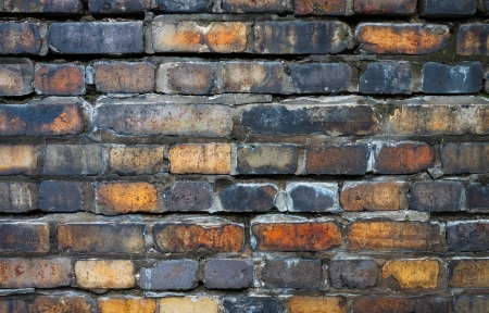 weaken: Weather-beaten bricks