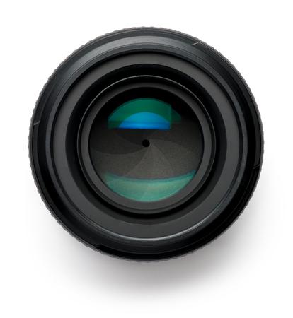 50mm Camera Lens on White