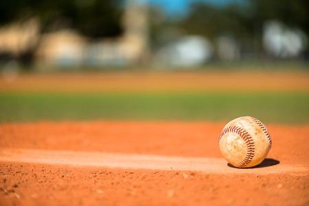 Béisbol en el montón de jarras Foto de archivo - 35363043
