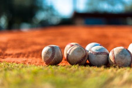 pitchers mound: Baseball on Pitchers Mound