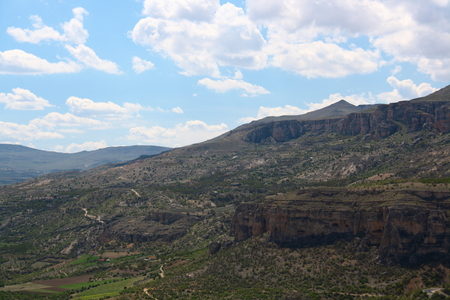 vadi: Levent Valley near Malatya in Turkey