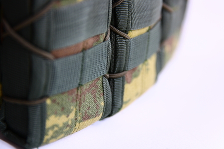 bulletproof: Tactical Vest for army with bulletproof Stock Photo