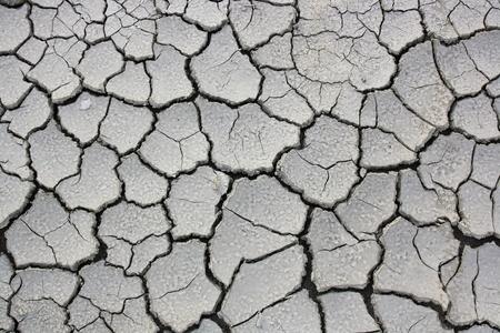 sequias: El suelo sequ�a sin fondo de la hierba Foto de archivo