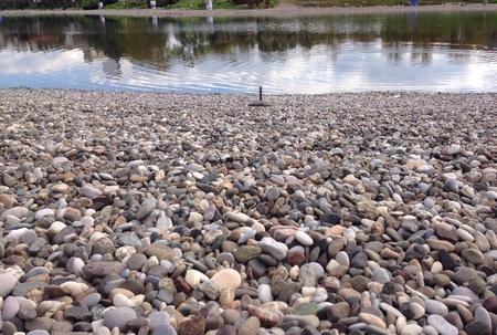 tuzla: Salt lake in Tuzla