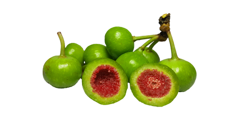 Green fruit to be side dish. Banque d'images