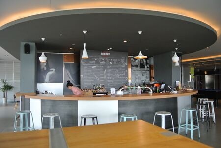 Mini bar corner, Nonthaburi, Thailand, July 20th, 2018, Mini bar corner.