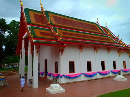 The Buddhism chapel.