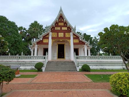 The place Enshrined Buddha statue.