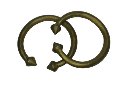 Old brass Anklet.