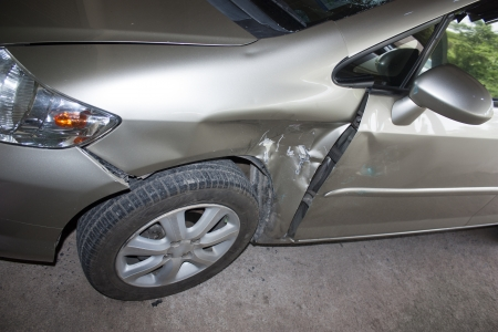 horse pipes: Signs of damage from the crash