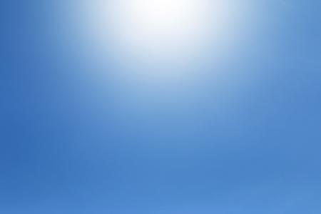 no cloud: No cloud in blue Sky background