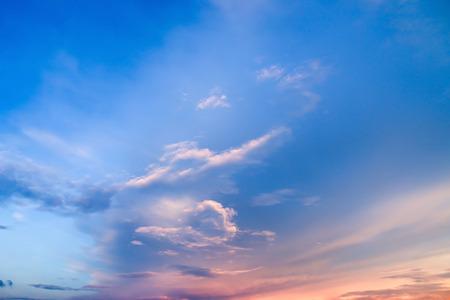 cumuli: clouds on sky in the evening. Sky background