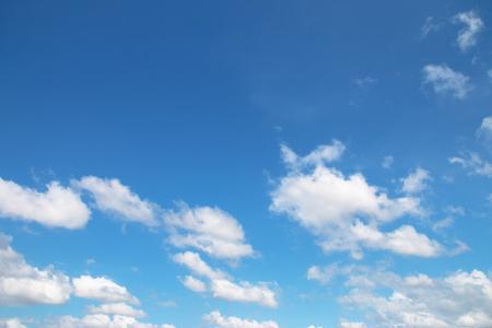 cumuli: clouds in the blue sky, Sky background Stock Photo
