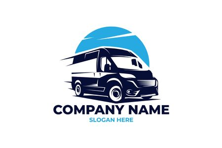 cargo van logo Illustration