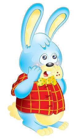 Rabbit vector Stock Photo - 12471532
