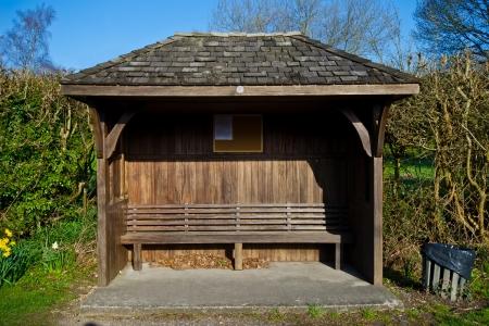 empty bus station