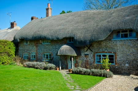 english village: English Village Cottage