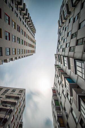 Modern, new executive apartment building